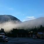 20140815車中泊旅行記3 山梨県にある道の駅たばやま到着!