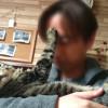 「おくちクチャイ!」とパパを避ける♀猫ハッピーちゃん