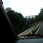 20140815車中泊旅行記2 山梨県にある道の駅たばやまへの道中