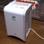 ペット臭対策 我が家の脱臭機 富士通ゼネラルHDS-302とDAS-15の比較 どちらがいい?
